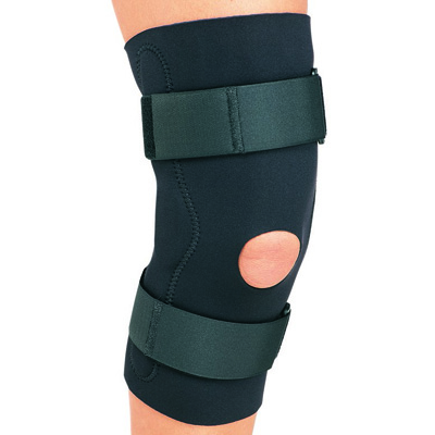 PROCARE Hinged Knee Support 2X-Large Hook and Loop Closure Left or Right Knee