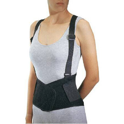 PROCARE Industrial Back Support Large Hook and Loop Closure 36 - 42 in Unisex