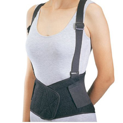 PROCARE Industrial Back Support Medium Hook and Loop Closure 30 - 36 in Unisex