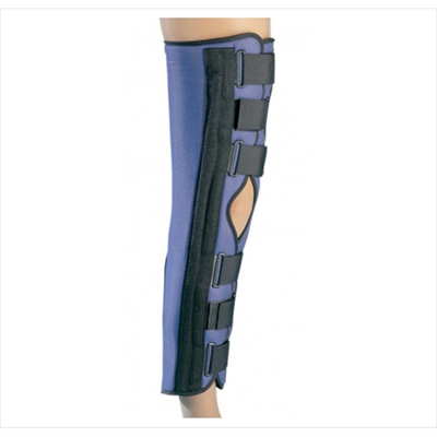 PROCARE Knee Immobilizer Large Hook and Loop Closure 20 in Length Left or Right Knee