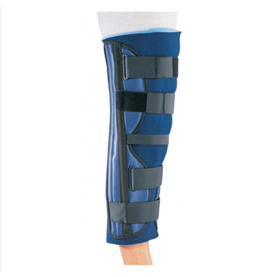 PROCARE Knee Immobilizer Universal Hook and Loop Closure 24 in Length Left or Right Knee