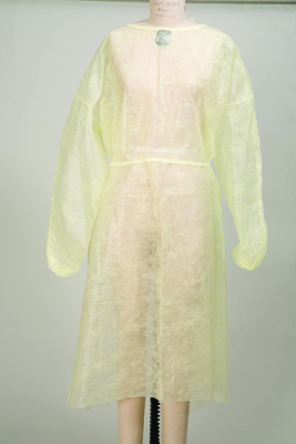 Protective Procedure Gown McKesson One Size Fits Most Unisex NonSterile Yellow - 44051100