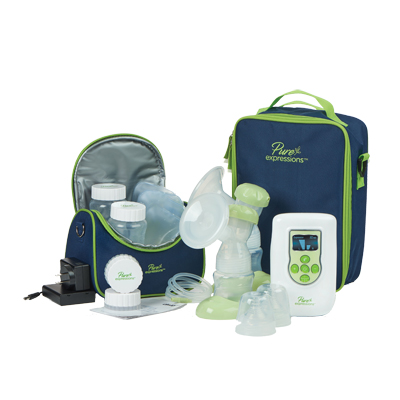 Pure Expressions Deluxe Dual Channel Electric Breast Pump by Drive Medical RTLBP2200