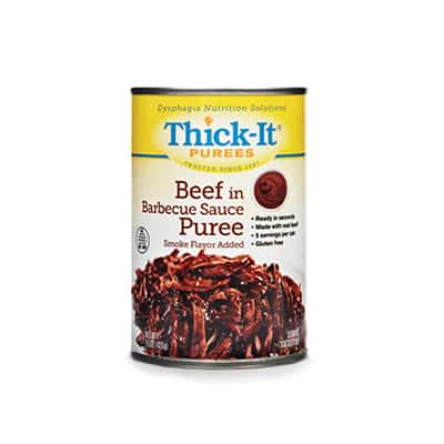 Puree Thick-It 15 oz. Can Beef in BBQ Sauce Ready to Use Puree