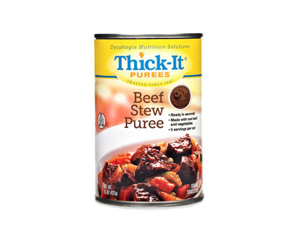 Puree Thick-It 15 oz. Can Beef Stew Ready to Use Puree