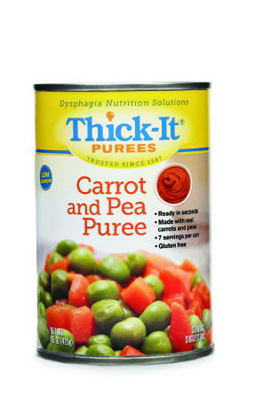 Puree Thick-It 15 oz. Can Carrot and Pea Ready to Use Puree