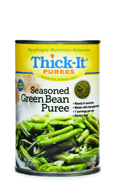 Puree Thick-It 15 oz. Can Seasoned Green Bean Ready to Use Puree