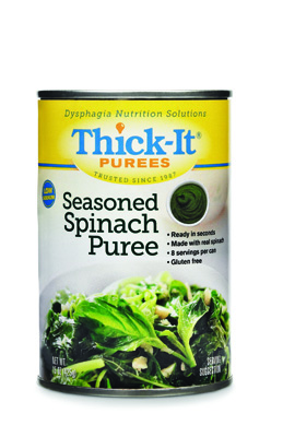 Puree Thick-It 15 oz. Can Spinach Ready to Use Puree