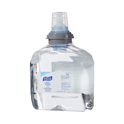 Purell Advanced Hand Sanitizer 1200 mL Alcohol (Ethyl) Foaming Dispenser Refill Bottle