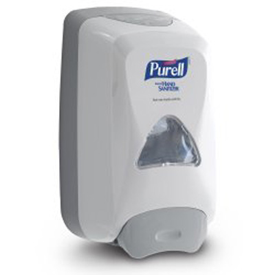 Purell FMX-12 Hand Hygiene Dispenser Dove Gray Push Bar 1200 mL