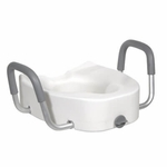 Drive Medical Raised Toilet Seat Model 12013