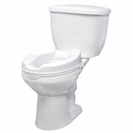 Drive Medical Raised Toilet Seat with Lock Model 12062