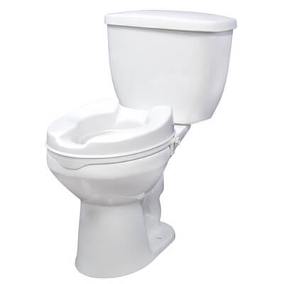 Drive Medical Raised Toilet Seat with Lock Model rtl12064