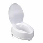 Drive Medical Raised Toilet Seat with Lock and Lid 12067