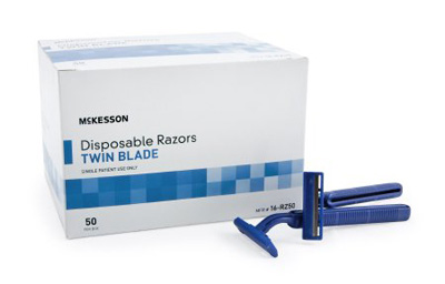 Razor McKesson Twin Blade Disposable