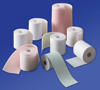Recording Paper MEDI-TRACE Thermal 50 mm X 30 Meter Roll Without Grid