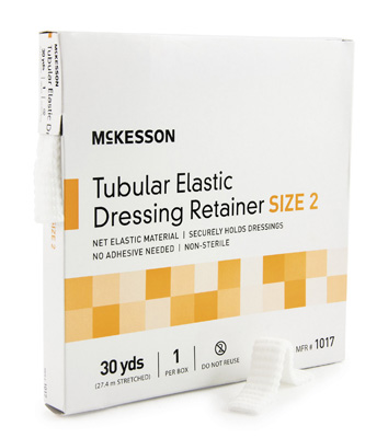 Retainer Dressing McKesson Tubular Elastic Dressing Elastic Net 30 Yards Size 2
