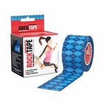 Rocktape 2 in x 16.4 ft Roll - Blue - 3 pack