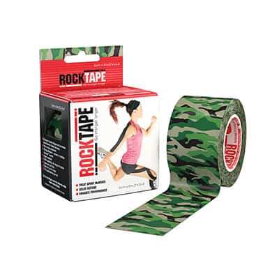 Rocktape 2 in x 16.4 ft Roll - Camo - 3 pack