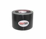 Rocktape 2 in x 16.4 ft Roll - Black - 3 pack