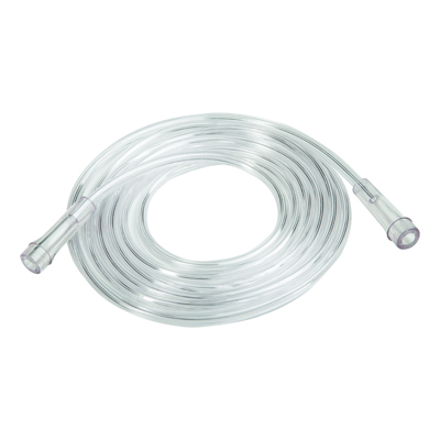 Roscoe 7 ft Clear Oxygen Supply Tubing - 50 pack