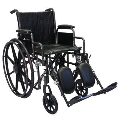 Roscoe Medical K2-Lite Wheelchair Color: Powder-coated silver vein k2st1616dhrel