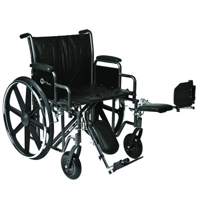 Roscoe Medical K7-Lite Wheelchair Color: Silver vein k72418dhrel