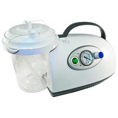 Roscoe Medical Portable Suction Machine With DC Rechargeable Battery