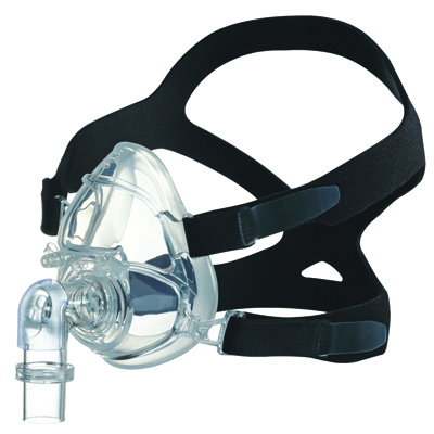 Roscoe Medical CPAP Full Face Mask Color: Black/Clear CPM-FFS