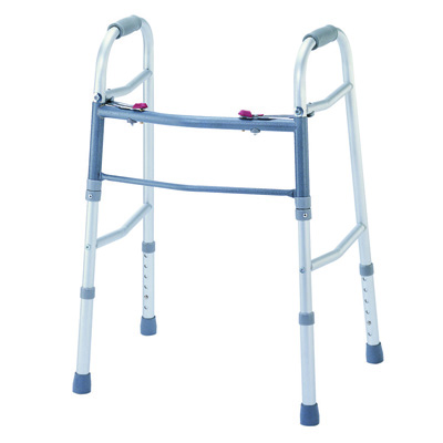 Roscoe Medical Two Button Walkers Color: Gray ROS-WK40050-4