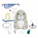 Roscoe Medical Pediatric Bunny Nebulizer Compressor with TruNeb Reusable Neb Kit