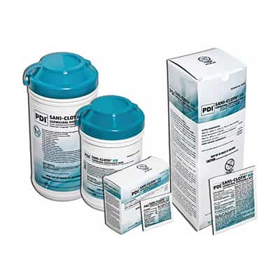 Sani-Cloth HB Surface Disinfectant Germicidal Wipe 160 Count Canister