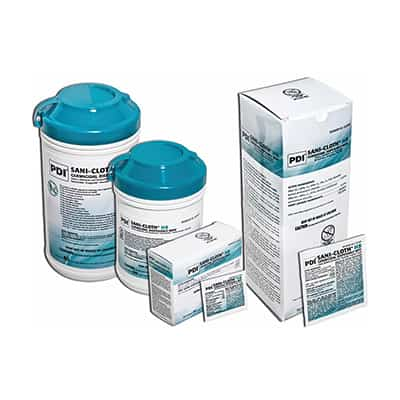Sani-Cloth HB Surface Disinfectant Quaternary Based Wipe 65 Count Canister