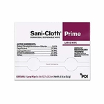 Sani-Cloth Prime Surface Disinfectant Cleaner Germicidal Wipe 50 Count Individual Packet