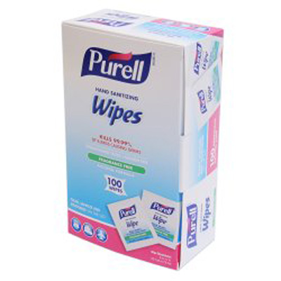 Sanitizing Skin Wipe Purell Individual Packet Alcohol (Ethyl) Alcohol Scent 1 Count - 9022-10