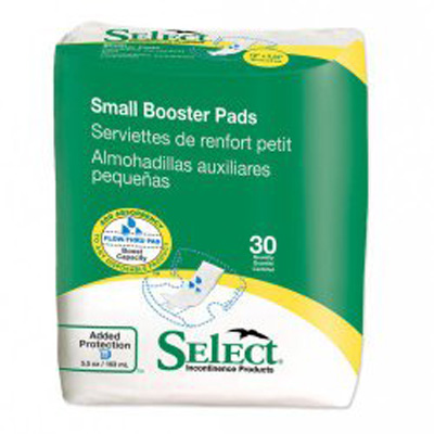 Select Booster Pad - Small - 2770 180 /cs (6 bags of 30)