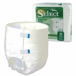 Select Disposable Briefs - Medium - 2624 96 /cs (8 bags of 12)