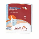 Select Soft n Breathable Disposable Briefs - Large - 2628 72 /cs (6 bags of 12)