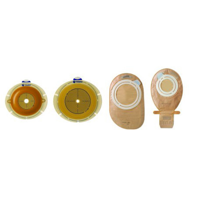 SenSura Ostomy Pouch Two-Piece System Maxi 50 mm Stoma Drainable Flat