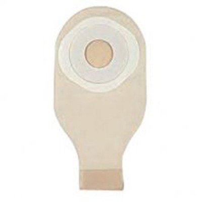 SenSura Post Op Ostomy Pouch One-Piece System 12-1/4 in Length 3/8 to 3 in Stoma Drainable Flat, Trim to Fit, With Window
