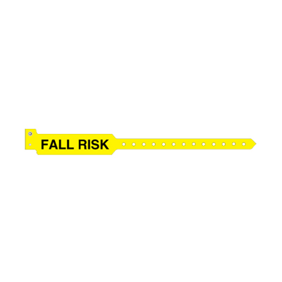 Sentry SuperBand Patient Identification Band Alert Bands Snap Closure Fall Risk