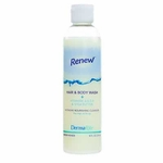 Shampoo and Body Wash Renew 8 oz. Squeeze Bottle Coconut Scent