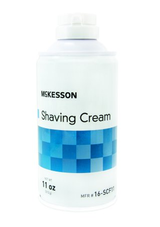 Shaving Cream McKesson 11 oz. Aerosol Can