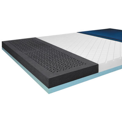 Drive Medical ShearCare 1500 Bariatric Dual Layer Pressure Redistribution Foam Mattress 84 x 54 Inch 1500sc-54-fb