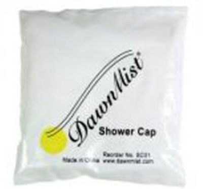 Shower Cap DawnMist One Size Fits Most Clear