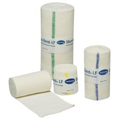 Shur-Band LF Elastic Bandage 6 in x 10 Yards Standard Compression Single Hook and Loop Closure Natural NonSterile