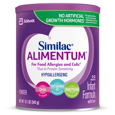 Similac Alimentum Infant Formula 12.1 oz. Can Powder