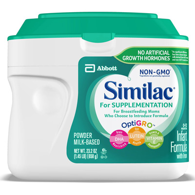 Similac For Supplementation Infant Formula 1.45 lbs. Canister Powder