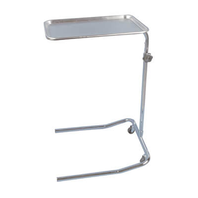 Drive Medical Single Post Mayo Instrument Stand Model 13035