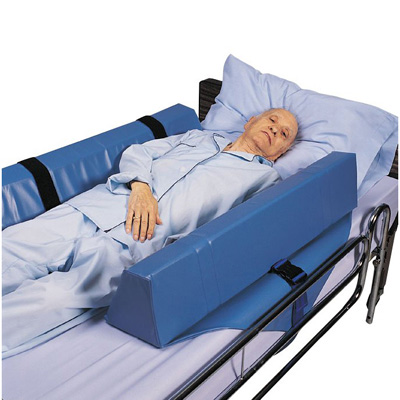 Skil-Care Roll-Control Bolster 7 x 8 x 34 in Foam Straps / Buckles
